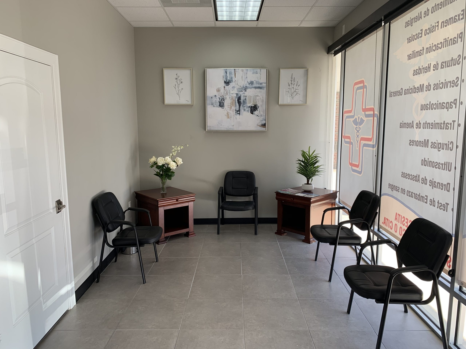 Este es el frente de nuestra clinica